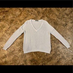 Brandy Melville Sweaters - ❌SOLD❌ BRANDY MELVILLE LIGHT BLUE LANCE SWEATER